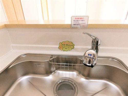 【水栓】蛇口中に浄水機能を装備した、オールインタイプの水栓。